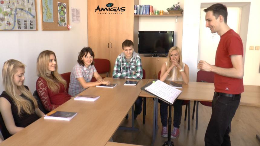 pomaturitní jazykové kurzy, Callanova metoda v Amigas